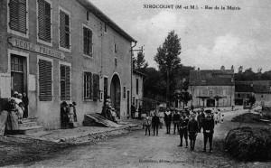 Rue Camille Quillé au début du XXème siècle